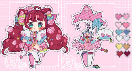 Rose Bloom Baby Closed species adoptAuction (OPEN) by Bai-Jiu
