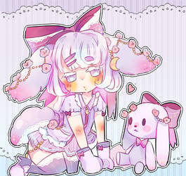Sweet Dreams Rabbit Adopt Auction#2 (OPEN) (1$SB) by Bai-Jiu