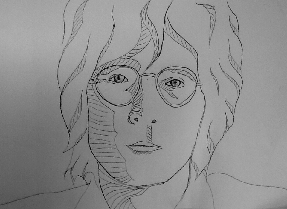 Line Drawing John Lennon : More lennon lines by s rlgamer on deviantart