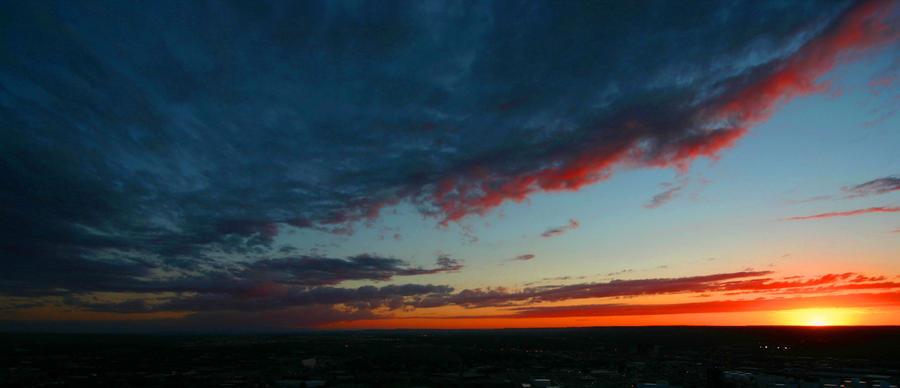Sunset in Billings, MT by RyanColes