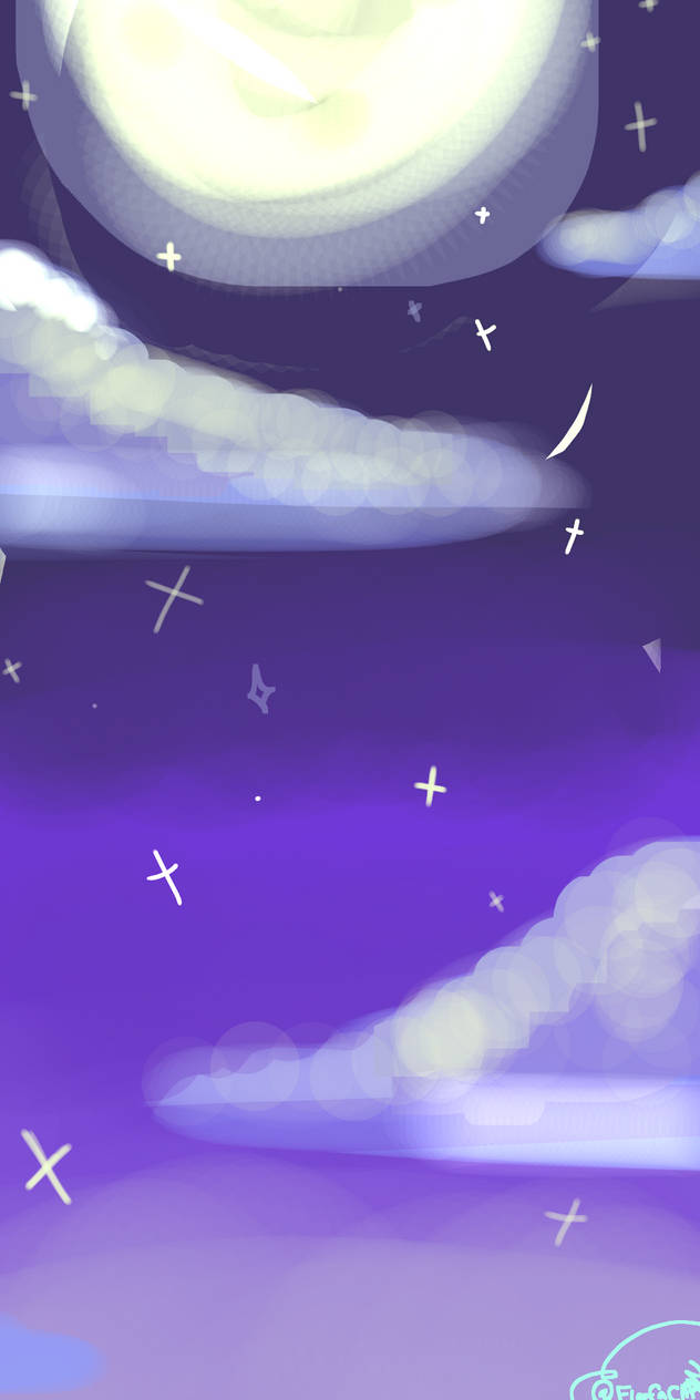Starry Background Art