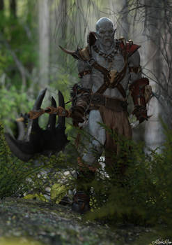 Orc - Barbarian - Male - Woodlands 1 - FINAL