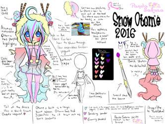 UTAU: Snow OTOME: 2016 Concept by PandaSakura