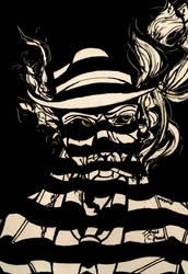 Scrawler Box: Nick Valentine: Jazz Noir Challenge by IrradiatedSea