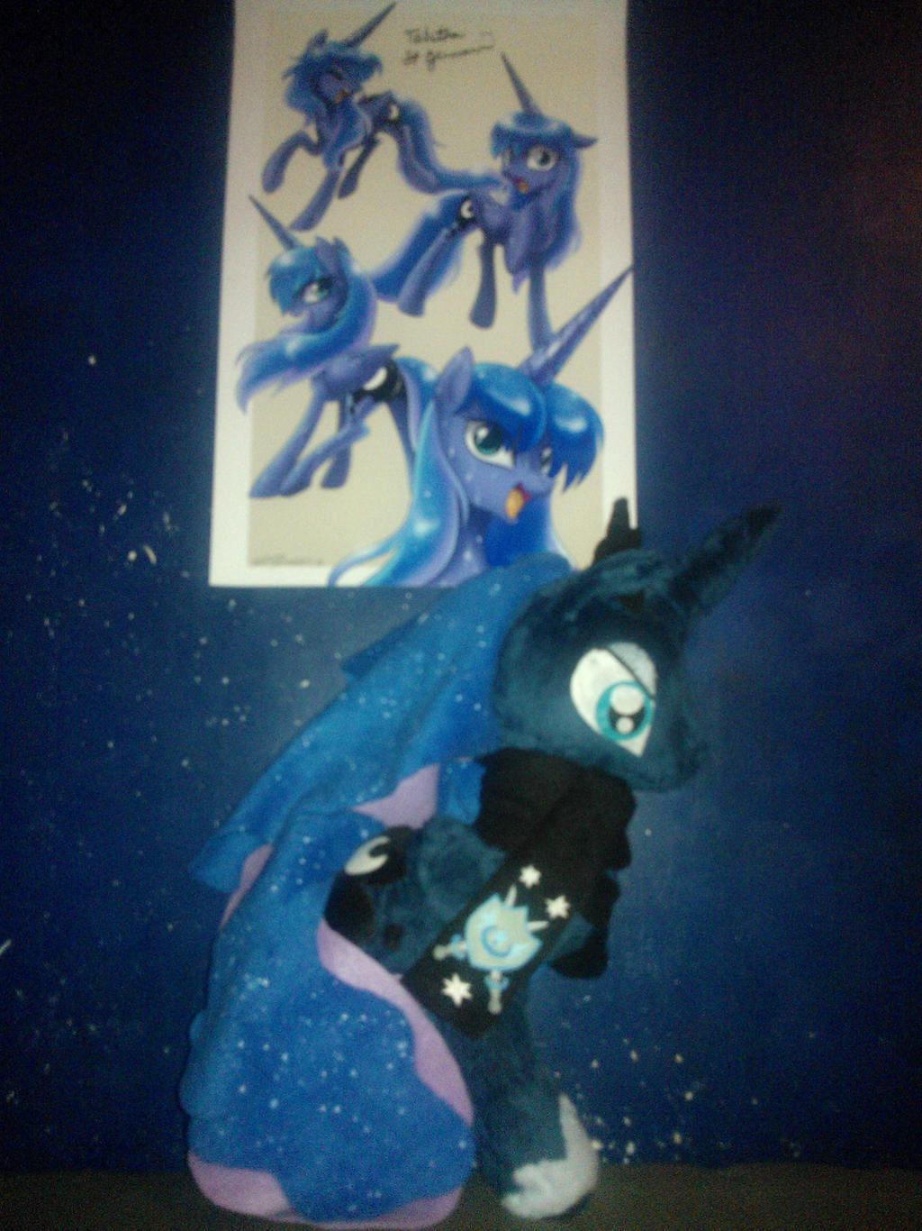 Luna Plushie by ShadowofaDemon88