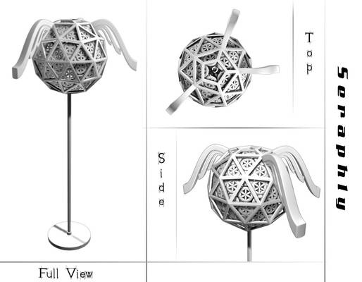 Lamp Design : Seraphly