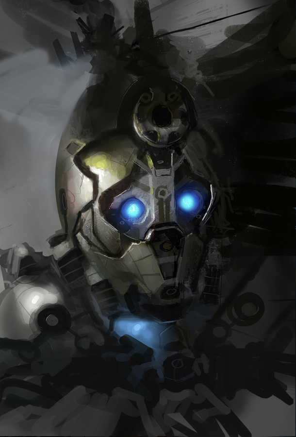robot by paooo