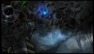 Science fiction scene 3