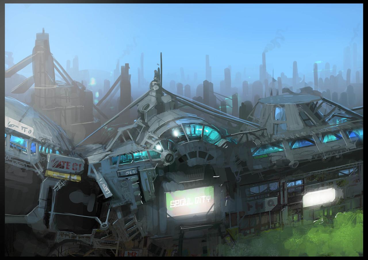 City 7 by paooo