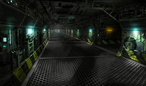 Science fiction scene 5 by paooo