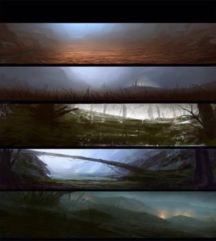 Sketchhh landscape by paooo