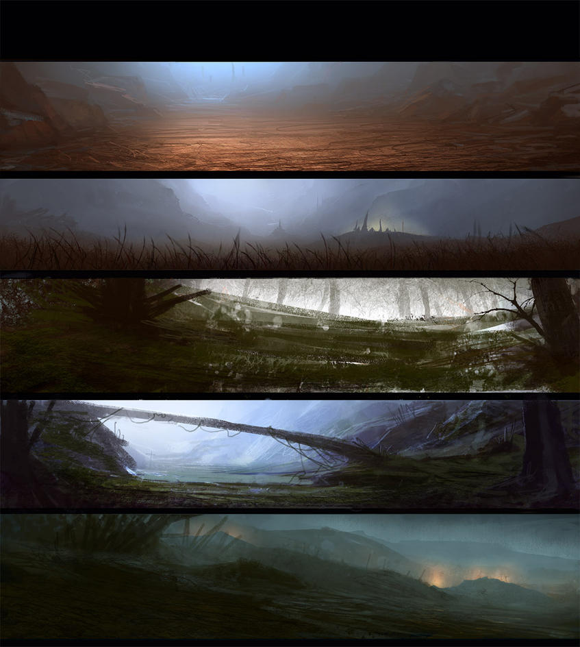 Sketchhh landscape by paooo
