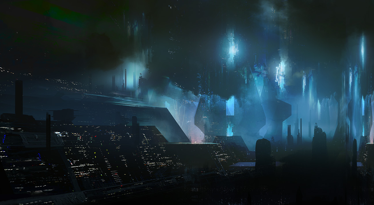 dark  city 01 by paooo