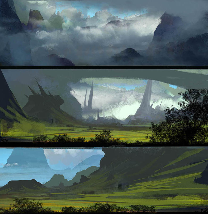 Lanscape by paooo