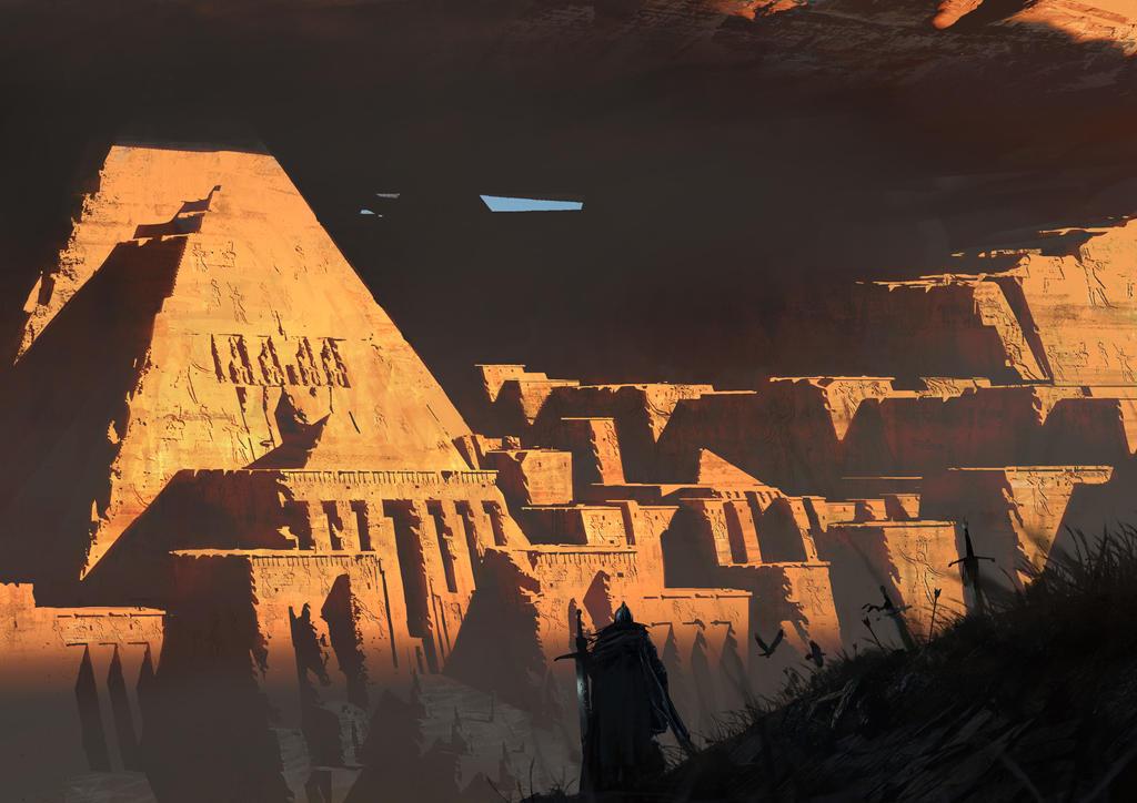 Ruins | sunset by paooo