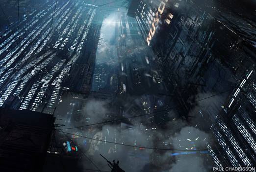 Blade Runner 2049 - 2022 Blackout by paooo
