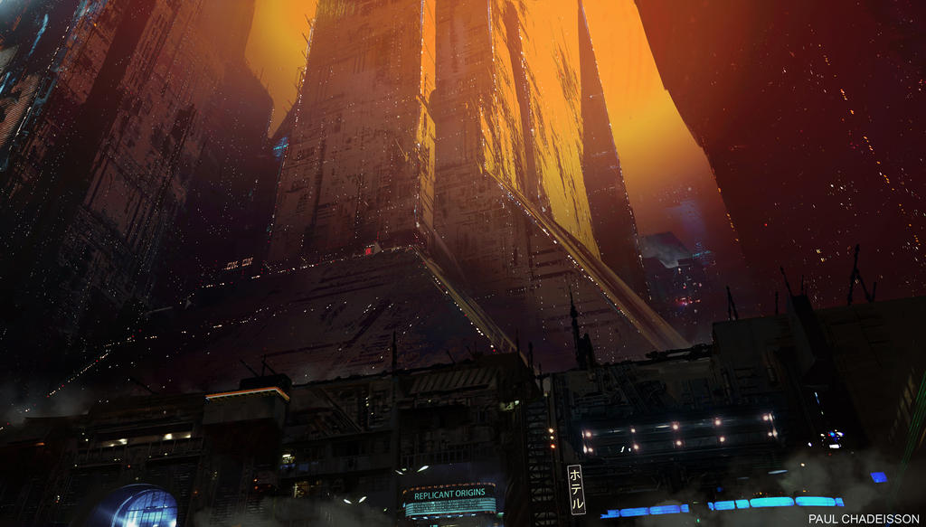 Blade Runner 2049 - 2022 Blackout by paooo