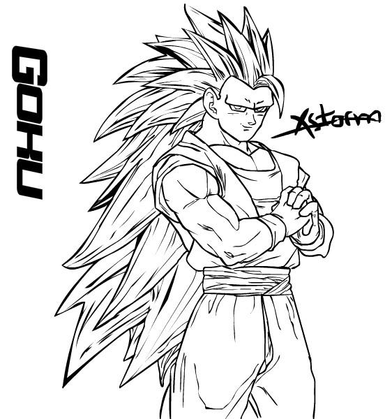 Son Goku Ssj3 By Mrgekon On Deviantart Viewinviteco