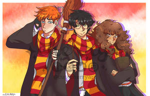 Harry Potter and his friends [fanart]