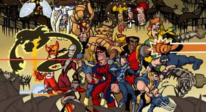 DC-Marvel united history