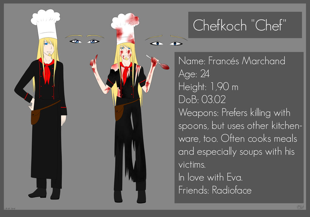 Frances -Chef- Marchand by Milchwoman