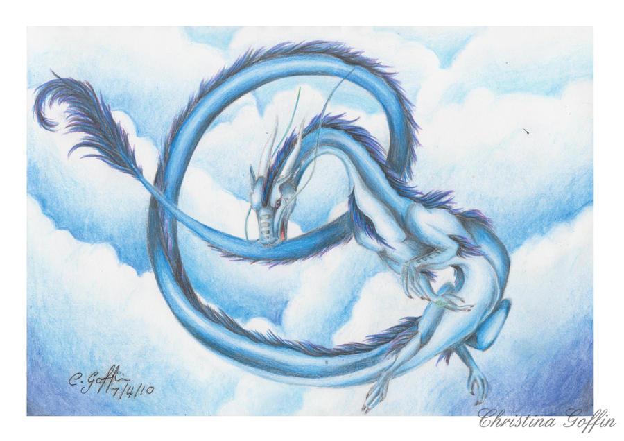 Spirit Dragon by Elssence