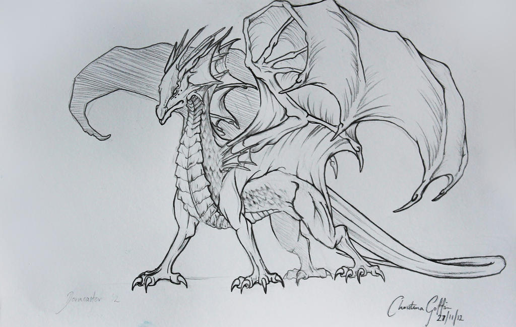 Quick Sketch Dragon by Elssence