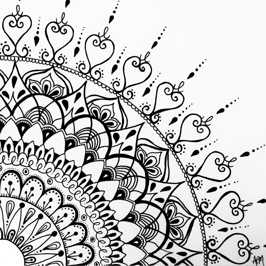 Mandala Design Art Lesson
