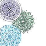 Three Mandalas