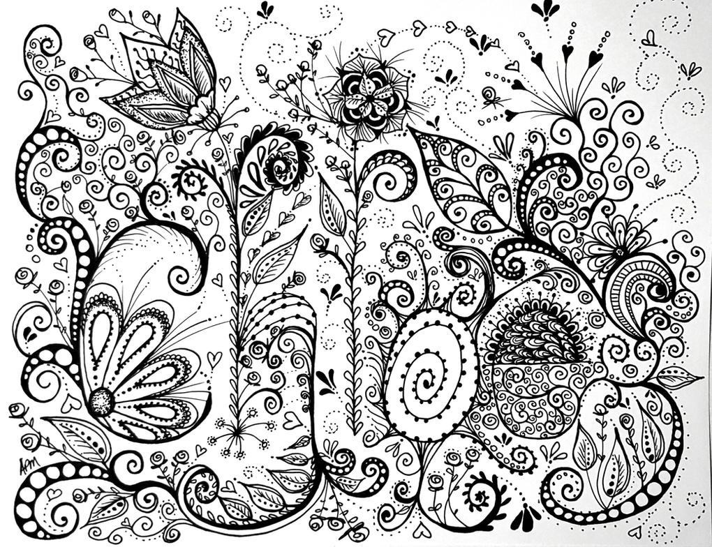 Name Drawings: Doodle Name Art By Flexibledreams On DeviantArt