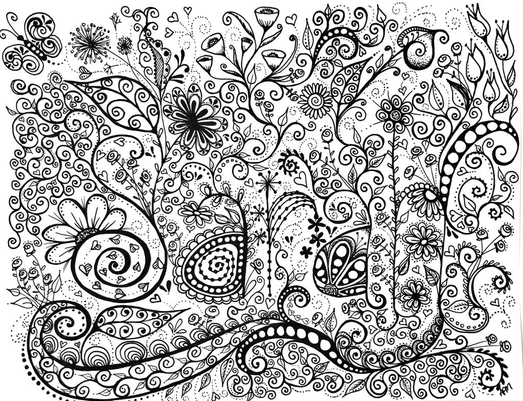 Names Of Line Drawing Artists : Sarah doodle name art by flexibledreams on deviantart