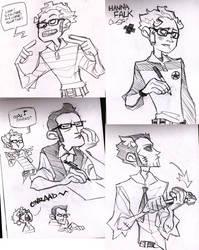 This Is Just Crap Sketches by vert-is-ninja