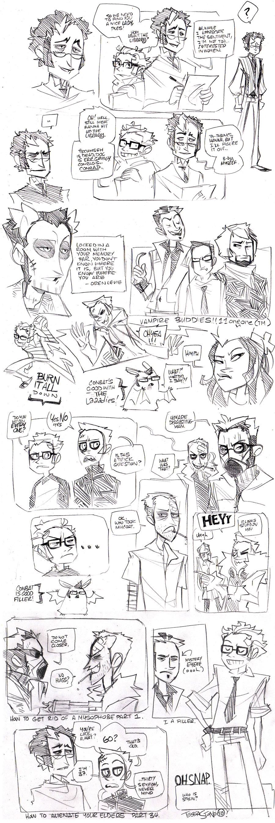 If I Doodledumped by vert-is-ninja