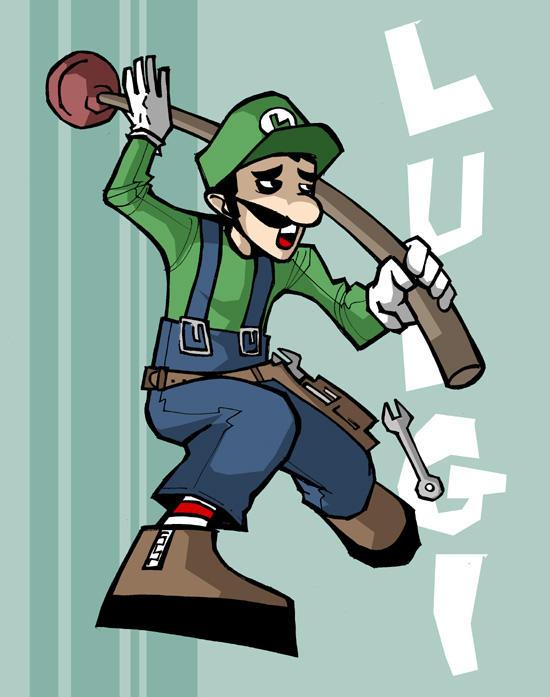 Luigi by vert-is-ninja