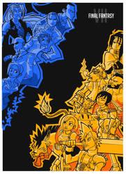 Final Fantasy VII by vert-is-ninja