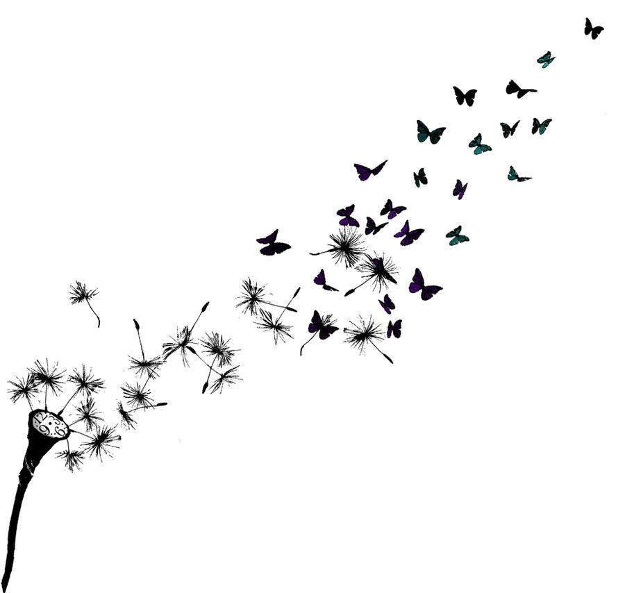 dandelion bird drawing. Black Bedroom Furniture Sets. Home Design Ideas
