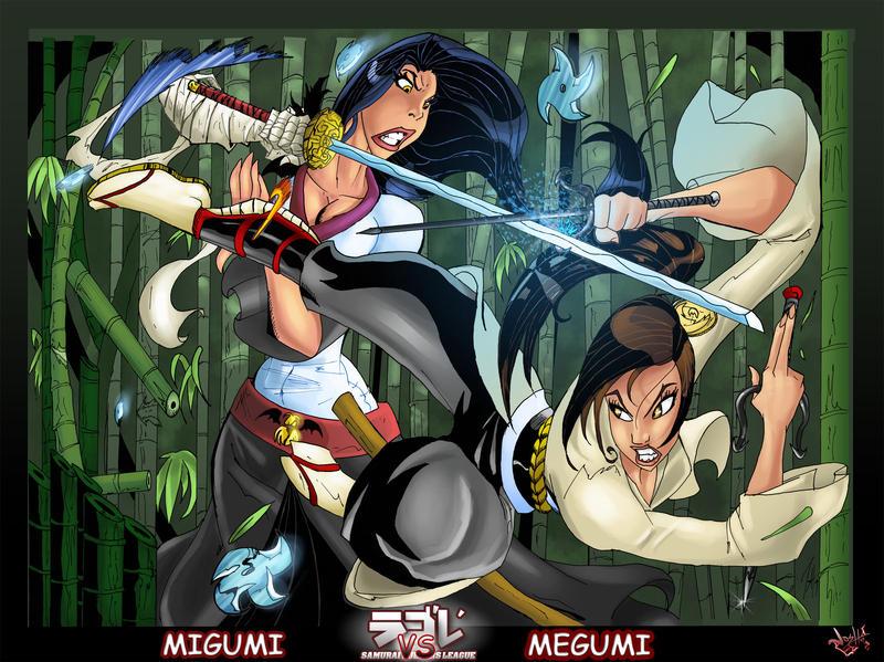SDL Duel:Migumi vs Megumi by Darkstampede