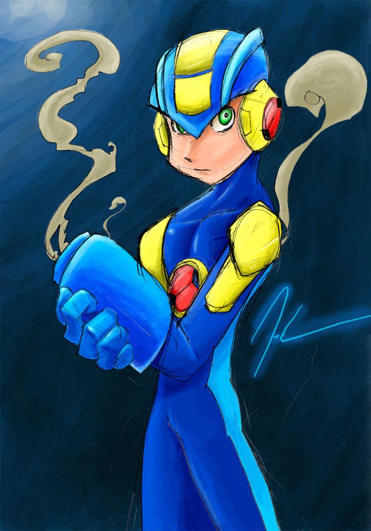 Megaman nt warrior hemtay hardcore image