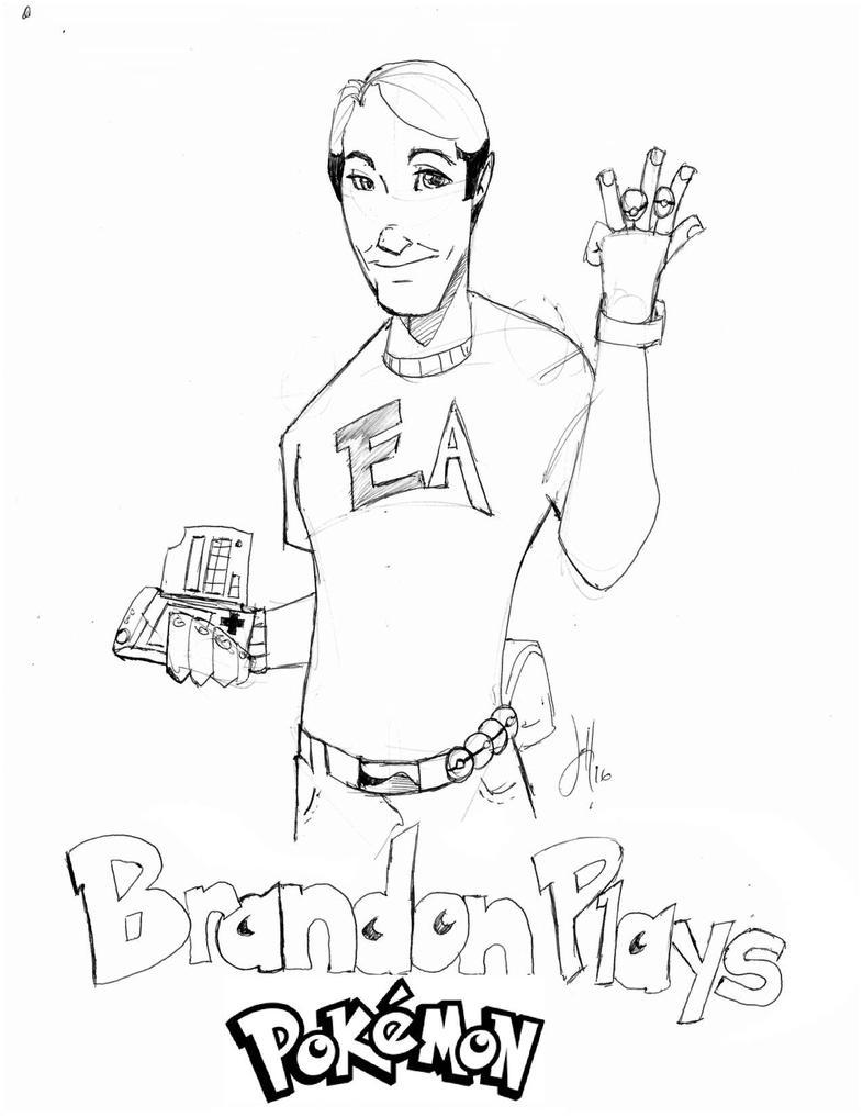 Brandon Plays!  by Darkstampede