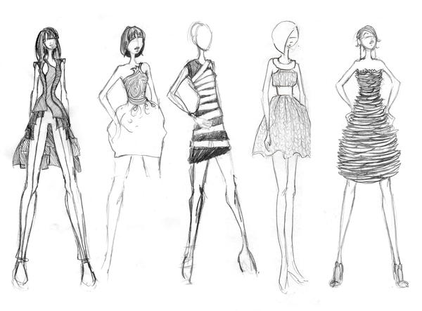 Clothing Design Tutorial Fashion Sketches misc by