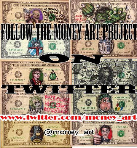 Money Art on Twitter by DonovanClark