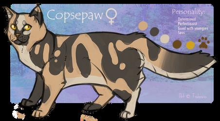 Copsepaw by Takkaia