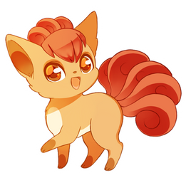 Vulpix by mjoyart