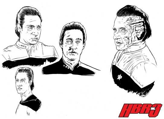 Star Trek: TNG - Data by HBRIII on DeviantArt