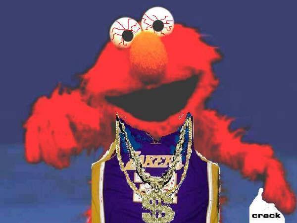 Pin Gangster Elmo Smoking on Pinterest