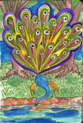 Peafowl by Magnu8