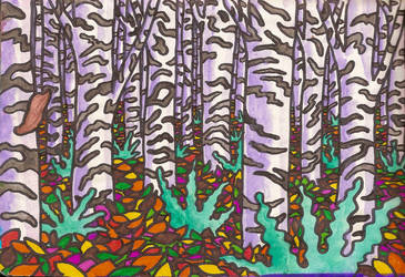 A birch is a birch II by Magnu8