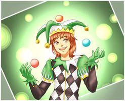 [Request] Ferbguy as a Jester by Inra98