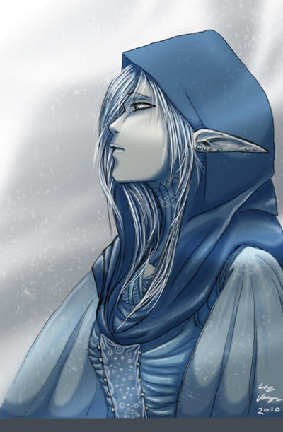 Hoping I did this right, It's Liarra Sien. Snow_elf_by_thelizangel-d332rua