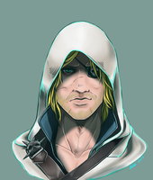 Pirate Kenway by TheLizAngel
